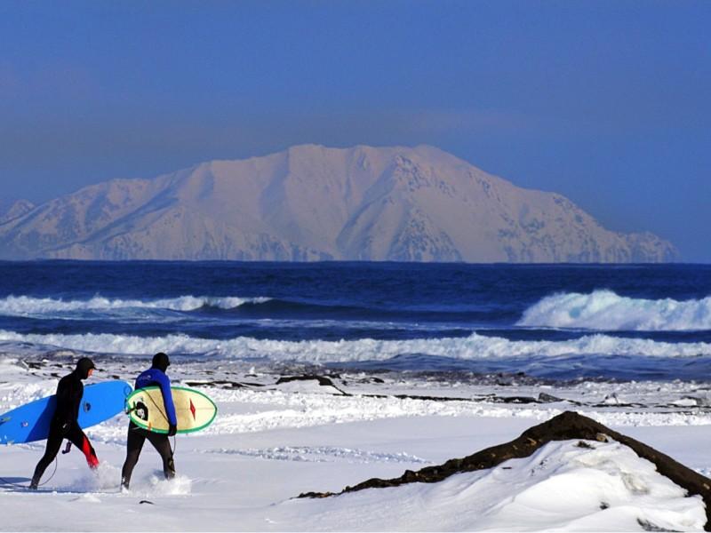 Zima - Kamchatka