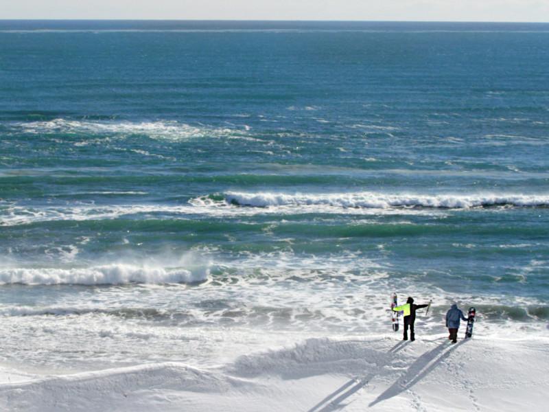 Zima - snowsurf