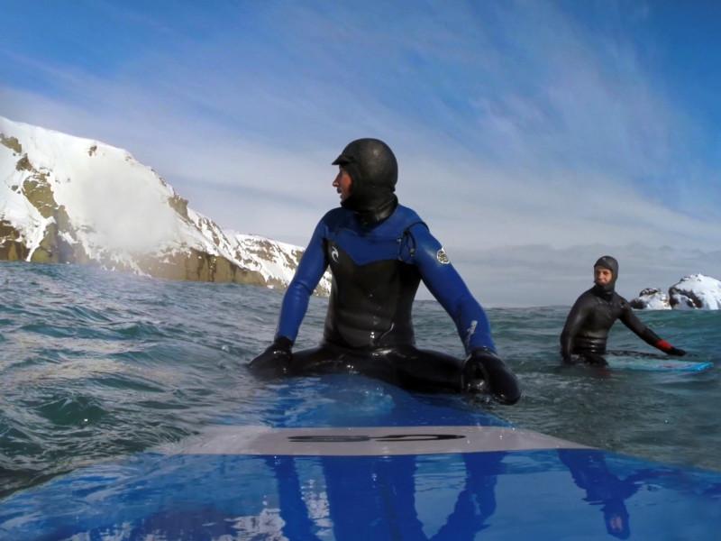 Zima - surf