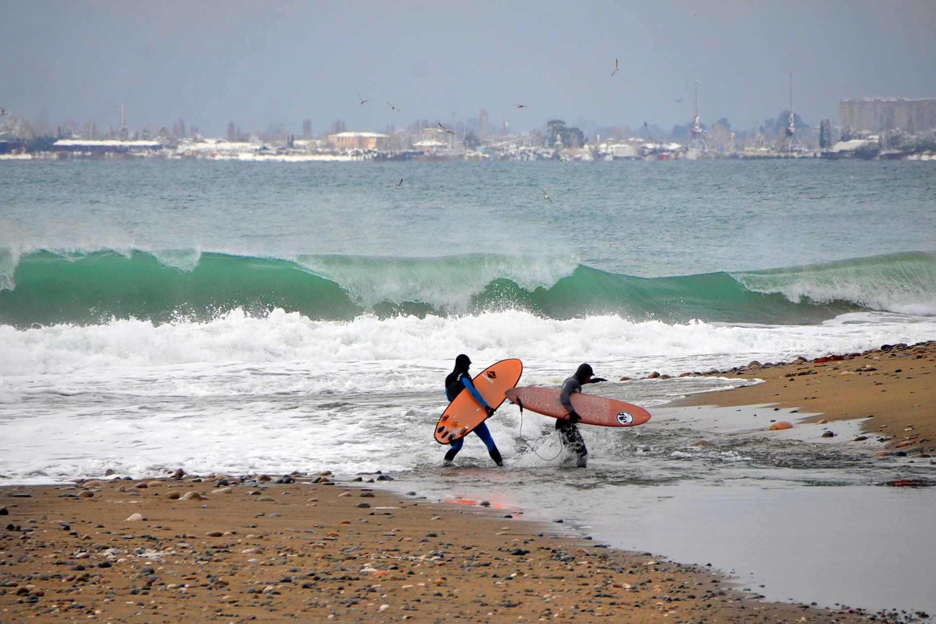 Новогодние приключения команды Surf Siberia