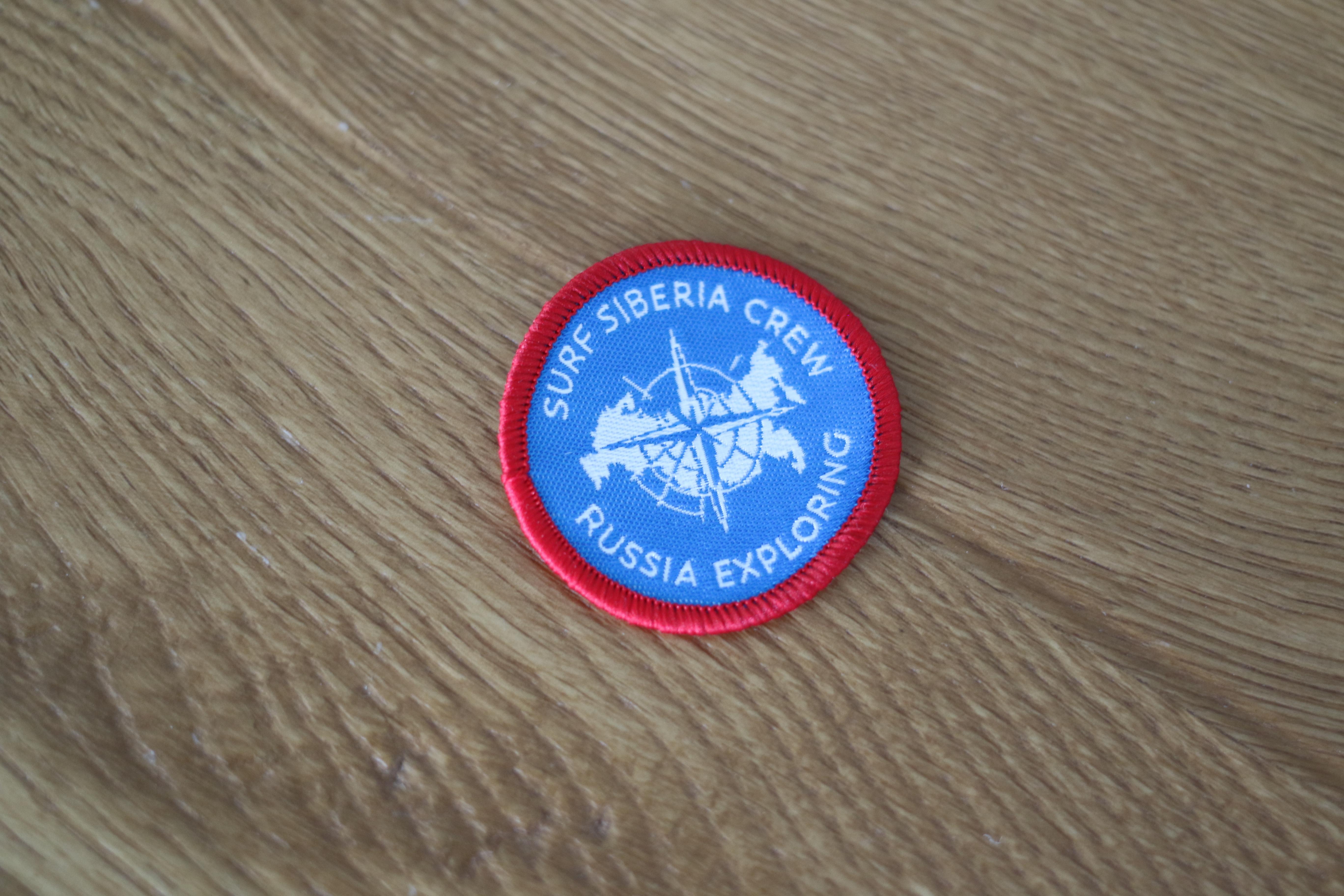 Нашивка Surf Siberia командная. 500 руб.